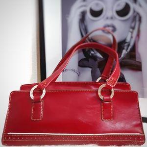 Vintage Tommy Hilfiger Faux Leather Handbag Purse